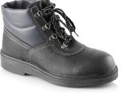 Ботинки кожаные литьевые