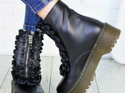 Ботинки кожаные Mart!ins 7152-28
