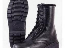 Ботинки кожаные Омон