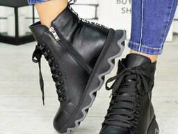 Ботинки кожаные Зефир 7200-28