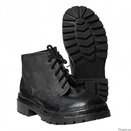Ботинки рабочие, клеепрошивные, комбинированные