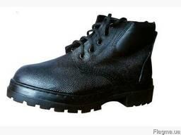 Ботинки рабочие Корд, бортопрошивные на шнурках