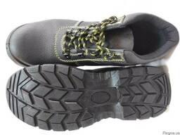 Ботинки рабочие, кожа, спец обувь