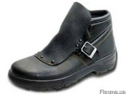 Ботинки рабочие, мужские, кожаные