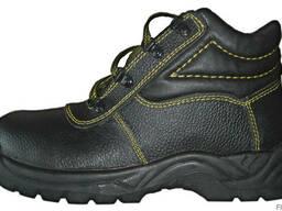 Ботинки из кожи, рабочая обувь, спецобувь