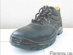 Ботинки рабочие с металлическим подноском, модель 2107 S1P