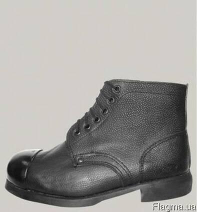 Ботинки рабочие с наружным металлическим носком