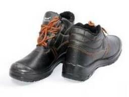 Ботинки рабочие утепленные с искусственным мехом,