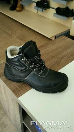 Ботинки рабочие утепленные Strong защита S3