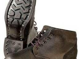 Ботинки рабочие юфть - кирза