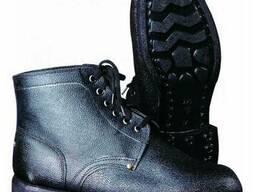 Ботинки рабочие, юфть-кирза