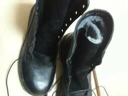 Ботинки с высокими берцами, ботинки модель1