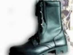 Ботинки с высокими берцами, Дельта, демисезон.