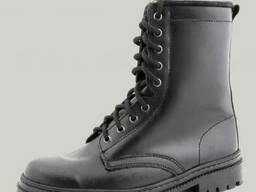 Ботинки с высокими берцами Хром