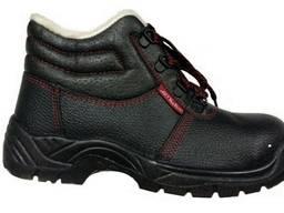 """Ботинки """"Strong"""" утепл. (пуп , кожа, иск. мех, мет. носок)"""
