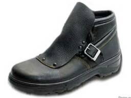 Ботинки сварщика рабочие, мужские, кожаные