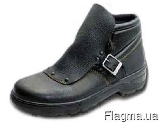 """Ботинки """"Сварщик"""", мужские. рабочие, кожаные, обувь"""