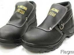 Ботинки сварщика, ботинки сварочные, ботинки рабочие