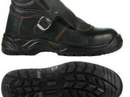 Ботинки сварщика кожаные на литой подошве