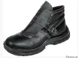 Ботинки сварщика Профи кожаные на литой подошве