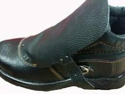 Ботинки сварщика юфтевые