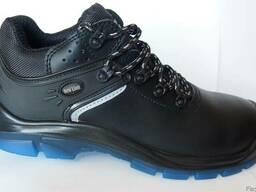 Ботинки-туфли кожаные Стронг