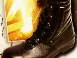 "Ботинки юфть/хром ""Омон"""
