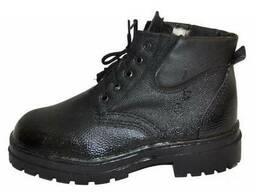Ботинки ЮФТЬ-КИРЗА утепленые (клеепрошивные, МБС)