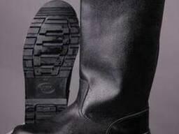Ботинки юфтевые клеепрошивные