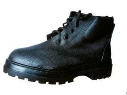 Ботинки юфтевые с мягкой вставкой. Подошва ПУП.