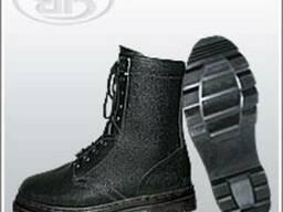 Ботинки юфтевые с завышенными берцами Омон