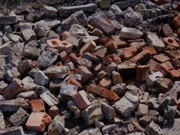 Бой кирпича, Бой бетона, Дробленый бетон
