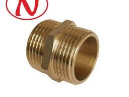 "Brass Nippel 1/2""M-1/2""M /HS"