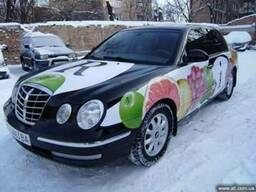 Брендирование автомобилей, «Vector-AG», г. Черкассы
