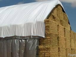 Брезентовое укрытие зерна , сена