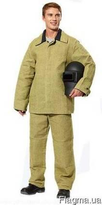 """Брезентовый костюм для сварщика """"Рони"""""""