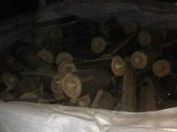 Брикет топливный дубовый от производителя