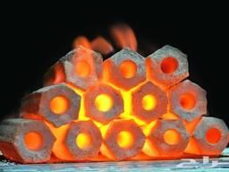 Брикети з деревного вугілля