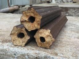 Древесные брикеты из дуба пини кей