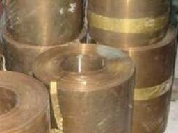 БрКМц лента 0,6х130 мм.