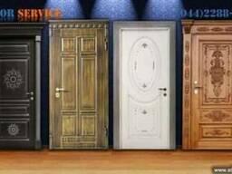 Бронедвери. Входные металлические двери. Сервис