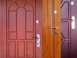 Бронированные двери из сортового металла от производителя