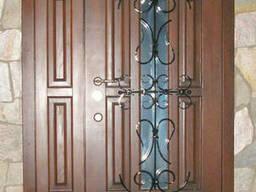Бронированные двери, решетки, ворота.