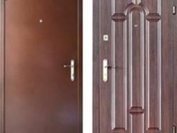 """Бронированные входные двери, модель """"Металл/МДФ Арка"""" улица"""