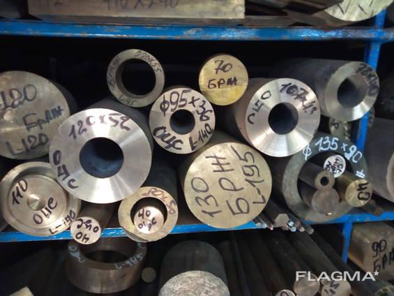 Бронза круг (пруток), бронза втулки (труба) розница
