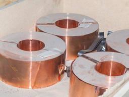 Бронзовая лента БрБ тв 0, 2х250 мм