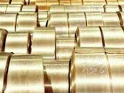Лента бронзовая БрКМц 3-1 лента 0, 35х300 тв.