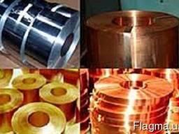 Бронзовая лента D-0,1х175; 0,1х200; 0,1х250; 0,1х300мм