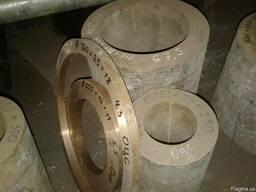 Бронзовая втулка ОЦС - ф153х33х250 мм.