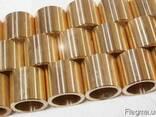 Бронзовые втулки, литье бронзы. БрАЖ 9-4; ОЦС 5-5-5. - фото 1